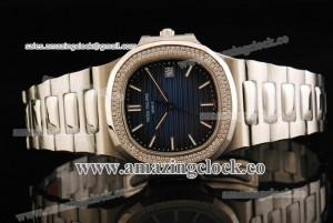 Nautilus 5711/15A SS Blue Dial on Stainless Steel Bracelet - A2892