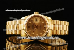 Datejust President 116238-chdp YG Yellow Gold Dial on Yellow Gold Bracelet - A2813