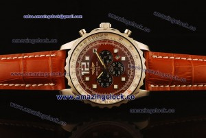 Chronospace SS Red Dial on Red Leather Strap OS20 Quartz