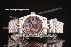 Datejust 26MM Lady 179175 whdro TT/Diamond White Dial on Two Tone Bracelet - A2813