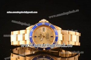 Submariner YG Gold Dial on Yellow Gold Bracelet - A2836