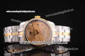 Price day-date SS/YG Gold Dial on TT Bracelet - A2813