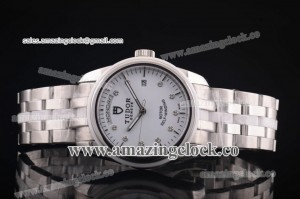 Price day-date SS/Cer White Dial on Bracelet - A2813