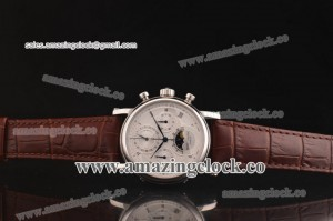 Grand Complication 5970R SS White Dial on Brown Leather Strap - A2824