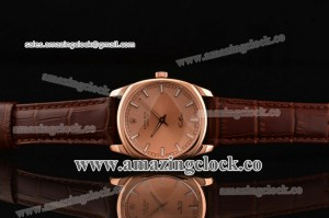 Cellini Danaos 4243.8 ps RG Rose Gold Dial on Brown Leather Strap - Swiss Quartz