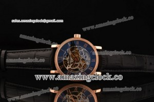 Grand Complication 5104A001 RG Skeleton Dial on Black Leather Strap - A3836