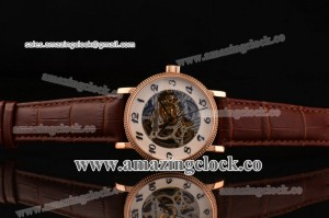 Grand Complication 5104A003 RG Skeleton Dial on Brown Leather Strap - A3836