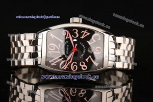 Casablanca 8880C SS Black Dial on Stainless Steel Bracelet - A2836