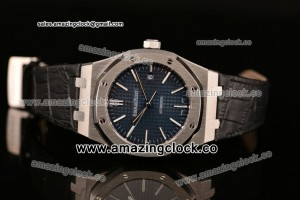 Royal Oak 41 Blue Dial Leather Strap - A2824 ZF Best Edition