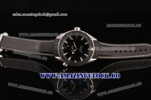 Seamaster Planet Ocean SS Black Dial 7750 Coating (EF) - A2813
