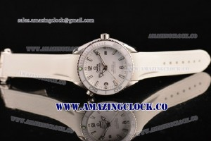 Seamaster Planet Ocean SS White Dial 7750 Coating (EF) - A2813