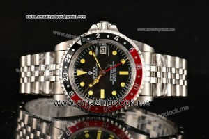 GMT Master Vintage SS Black Dial - A2813