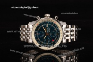 Navitimer World Chrono SS Blue Dial - A7751 (BP)