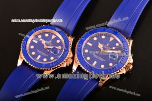 Yachtmaster 40/Yachtmaster 43 RG Blue Dial - A2813