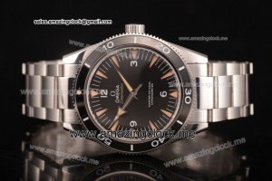 Seamaster 300 Master Co-Axial Full SS Black Dial - Clone 8500