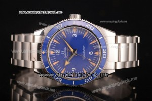 Seamaster 300 Master Co-Axial Full SS Blue Dial - Clone 8500
