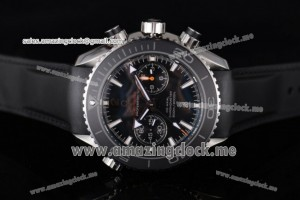 Seamaster Planet Ocean 600M Co-Axial SS Black Dial Stick Markers - Clone 9300 (EF)