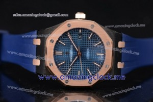 Royal Oak 36mm PVD Blue Dial Stick Markers - AST16 (EF)