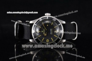 Submariner Vintage SS Black Dial - A2813