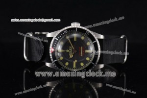 Submariner Vintage Officially Certified Chronometer SS Black Dial - A2813