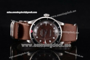Milgauss Vintage SS Brown Dial Stick/Dot Markers - A2813