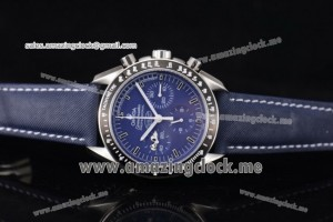 Speedmaster Professional Snoopy Award Limited Edition Chrono SS Blue Dial A7750 (YF)