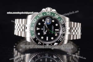 GMT-Master II Vintage Full SS Black Dial - A2836