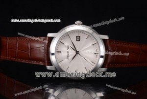 Jules Audemars SS White Dial Brown Leather - A3120(EF)