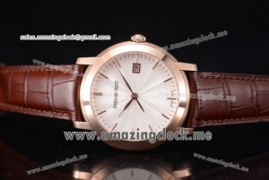 Jules Audemars RG White Dial Brown Leather - A3120(EF)