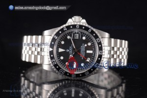 GMT-Master Vintage Full SS Black Dial - A2813