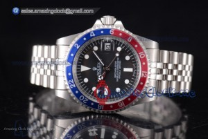 GMT-Master Vintage Black Dial Full SS - A2813