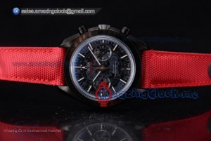 Speedmaster Co-Axial Chronograph Dark Side of the Moon PVD Black Dial - Swiss Valjoux 7750 (EF)