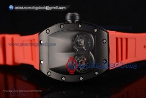 RM053 Skeleton Dial PVD Red Rubber - Asia Auto