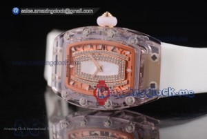 RM 07-02 Pink Sapphire White MOP Dial - Miyota 9015