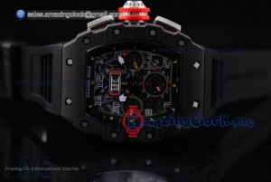 RM 11-03 PVD Skeleton Dial Black Rubber - A7750