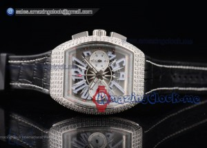 Vanguard SS Champagne Dial Black Leather - A2813