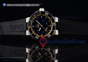 Great Barrier Reef Limited Edition II SS Black Dial Black Rubber - A2836