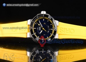 Great Barrier Reef Limited Edition II SS Black Dial Yellow Rubber - A2836