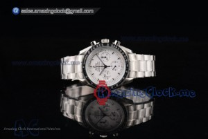 Speedmaster Apollo 13 Silver Snoopy Award Limited Edition Full SS White Dial - Venus 75 (EF)