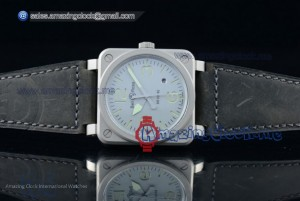 BR03-92 SS White Dial - Asia Automatic (AAAF)