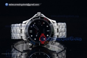 Seamaster Diver 300M Rio 2016 Olympic Steel Black Dial - A2824 (BP)