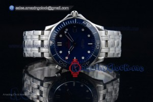 Seamaster Diver 300 M Co-Axial Steel Blue Dial - A2824 (BP)