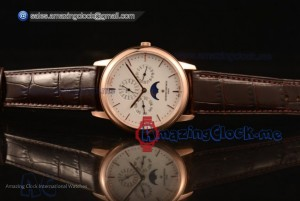 Patrimony Perpetual Calendar RG White Dial - Clone Original Automatic (AAAF)