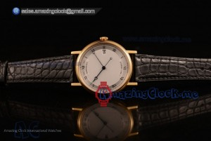 Classique Yellow Gold White Dial - 9015 Auto (AAAF)
