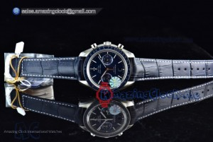 Speedmaster Moonwatch Professional Blue Dial  - Clone Omega 9300 Automatic