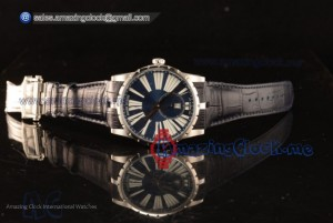 Excalibur Blue Dial  - Clone Roger Dubuis RD830 Automatic