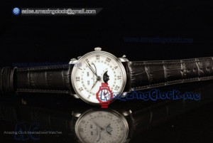 Villeret Moonphase & Complete Calendar White Dial - Miyota 9015 Automatic