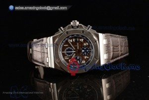 Royal Oak Offshore SS Brown Dial - Clone AP Calibre 3126 (JF)