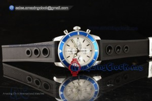 SuperOcean Heritage SS White Dial - Swiss Valjoux 7750(JH)