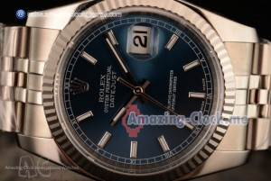1:1 Datejust SS Blue Dial - Clone Rolex 3135 Automatic(AR)